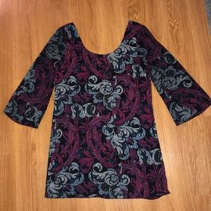 Charlotte Russe Paisley Party Dress